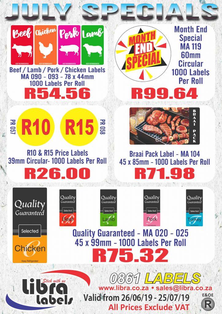 Libra Specials July 2019 R